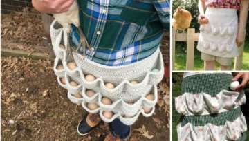An Egg-cellent Apron PATTERN